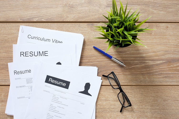 blind CVs